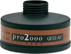 """Filter SCOTT PRE 2000 GF22 A2 so závitom 40 mm x 1,7 """"k ochranným dýchacím maskám a polomaskám"""