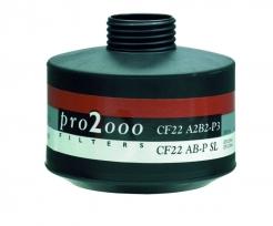 "Filter SCOTT PRO2000 CF 22 A2B2P3 R D so závitom 40 mm x 1,7"""