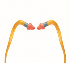 Tlmiace zátky Howard Leight QB200 penové náhradné pre chránič sluchu QB2 oranžové