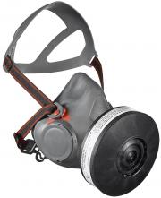 """Polomaska AVIVA 40 nealergická lícnice sedlo na brýle bez filtra závit 1,7""""x40mm sivá"""