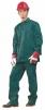 Montérkový komplet STANDARD blúza a nohavice do pása zelený veľkosť 58