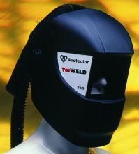 Kukla dýchacia Scott TORNADO 4 zváračská  pre jednotku TORNADO a T-A-LINE čierna