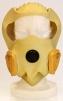 Požiarna úniková dýchacia ochranná maska Dura COGO elastická kukla s čírym zorníkom a filtrom ABEKP-CO žltá