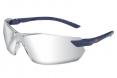Okuliare 3M 2820 ochranné nezahmlievajúce sa neškriabavé nastaviteľné sivo/čierne pružné straničky s gumovým koncom číre