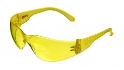 Okuliare MAX C4 atraktívne polykarbonátové nastaviteľné žlté