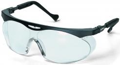 Okuliare UVEX SKYPER nastaviteľný čierny rámček nezahmlievajúci sa nepoškriabateľný číry priezor