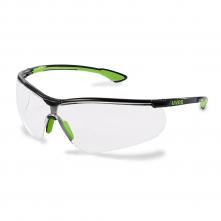 Okuliare UVEX Nový SPORTSTYLE Supravision Excellence limetkovo/čierny rámček nezahmlievajúce nepoškrabateľné číre