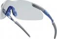 Okuliare THUNDER CLEAR športový tvar nezahmlievajúce sa nárazuvzdorné číre