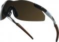 Okuliare THUNDER BRONZE nezahmlievajúce sa nárazuvzdorné sivo/hnedé tónované