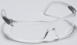 Okuliare TREKKA polykarbonát celoplastové číre