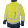 Reflexná vysoko viditeľná bunda OPTIMUM 2 vyberateľná vložka 4 v 1 HV žluto/modrá