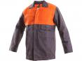 Montérková blúza CXS MOFOS zváračská materiál bavlna úprava PROBAN sivo/červená
