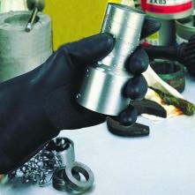 Rukavice Ansell NEOTOP neoprénové čierne veľkosť 10