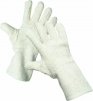 Rukavice CERVA LAPWING protirezné tepluodolne uzlíková bavlna dlhé bílé