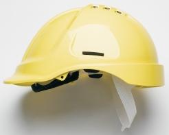 Prilba PROTECTOR STYLE 600 ABS ventilovaná žltá