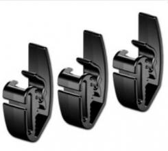 Spona Honeywell GC2000 na upevnenie okuliarov alebo čelovky na prilbu balenie 3 ks čierna