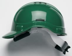 Prilba PROTECTOR STYLE 335 ELITE látkový kríž ventilovaná račňa zelená
