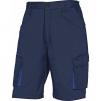Montérkové kraťasy Bermuda MACH 2 PES / BA šikmé vrecká tmavo modré veľkosť L