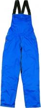 Montérkové nohavice MACH 1 náprsenka stredne modré veľkosť XL