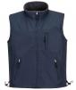 Vesta PW RS Ripstop PES/fleece nepremokavý záter z PVC obojstranná odolná voči vode a vetru tmavomodrá