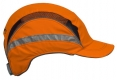 Čiapka so škrupinou PROTECTOR FB3 CLASSIC HV skrátený šilt pretiahnutá do tyla výstražná oranžová