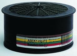 Filter Sundström SR ABEK1-Hg-P3 kombinovaný na masky a polomasky