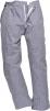 Nohavice PW Barnet Chefs čiastočne elastický pás pútka na opasok 100% bavlna kuchárske vzor pepito tmavo modro/biele