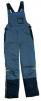 Montérkové nohavice DELTA PLUS Michellin s náprsenkou zosilnené kolená šedo/čierne