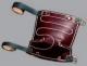 Nákolenník filc/hladená koža upínacie remienky