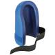 Nákolenník ULTRA materiál tvarovaný penový PU vonkajšok tvrdený upínacie pásky so suchým zipsom modrý