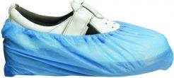 Návlek na obuv SHIELD silný PE sťahovacia gumička modrý