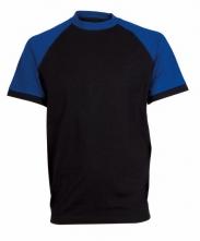 Tričko OLIVER ORION bavlna 180g čierno/modré veľkosť XL