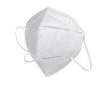 Respirátor GP FFP2 skladaný spona na nose slučky okolo uší balenia jednotlivo výroba CZ biely