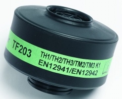 Ochranný protiplynový filter SCOTT TORNADO typ K1