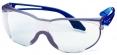 Okuliare UVEX SKYLITE modré stranice odolné proti poškriabaniu číre