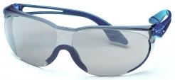 Okuliare UVEX SKYLITE Supravision Sapphire stráničky modre nepoškrabateľné zorník sivý