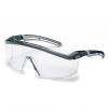 Okuliare UVEX ASTROSPEC 2.0 čierno/sivý rám povrstvené proti poškriabaniu číry priezor