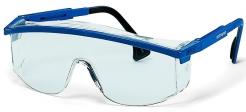 Okuliare UVEX ASTROSPEC ECO Supravision Sapphire modro/čierny rámik veľkoplošný zorník nezahmlievajúce nepoškrabateľné číre
