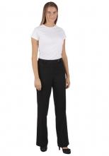 Nohavice ELIŠKA dámske čašnícke čierne veľkosť 40