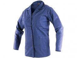 Montérková blúza CXS LADA bavlna vypasovaná vrecká zapínanie na gombíky tmavo modrá