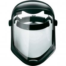 Ochranný tvárový štít Honeywell Bionic vrátane hlavového držiaka nastaviteľného račňou polykarbonátový číry