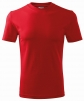 Tričko Classic 160 bavlna okrúhly priekrčník trup bez švov červené
