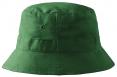 Klobúčik MALFINI Classic bavlna brúsený keper obšité vetracie otvory začistené švy zosilnená obruba fľaškovo zelený