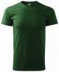 Tričko Malfini Heavy 200 bavlnené krátky rukáv bezšvový strih trupu okrúhly priekrčník tmavozelené