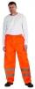 Nohavice Cerva GORDON do pásu polyester potiahnutý PU nepremokavé 2 reflexné pruhy oranžové