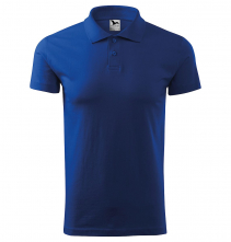 Polokošeľa Single Jersey 180 krátky rukáv kráľovská modrá
