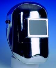 Kukla pokovovaná zváračská priezor 110x90 mm vrátane hlavového kríža