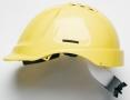 Prilba PROTECTOR STYLE 635 ventilovaná upínanie račňou žltá