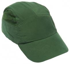 Náhradný poťah na čiapku so škrupinou FBC+HC22 štandardná dĺžka šiltu tmavozelená