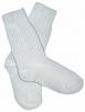 Ponožky tenké bavlna/polyamid biele veľkosť 38-39